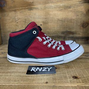 Converse Chuck Taylor Red Lace Up Sneaker